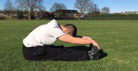 streamline your training stretch park