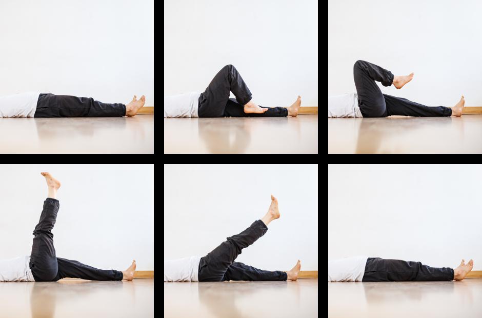 hip flexibility pedal