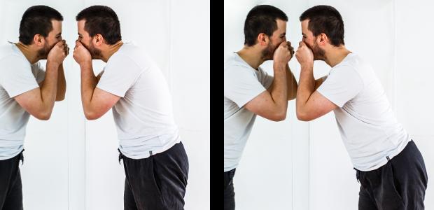 posture pick nose