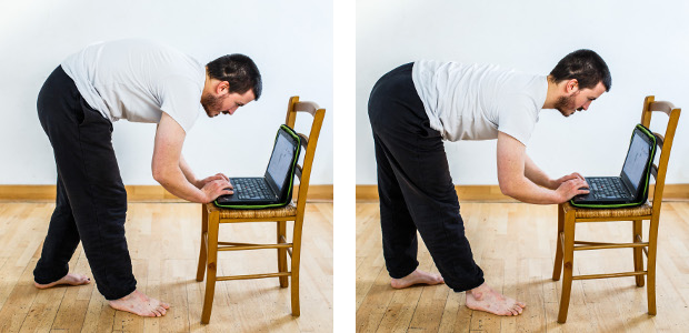 posture pick up low