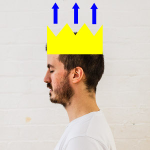 posture imagery crown